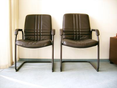 freischwingende Stühle